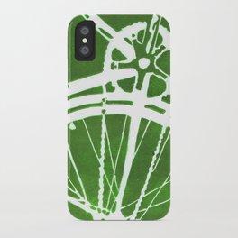 Green Bike iPhone Case