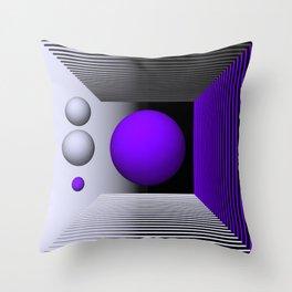 3D-geometry -3- Throw Pillow