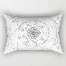 love mandala number 2 Rectangular Pillow
