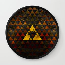 Ganondorf Geometry Wall Clock
