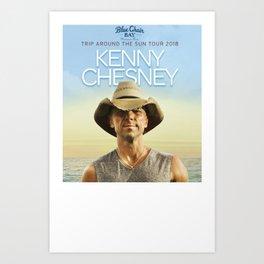 KENNY CHESNEY Art Print