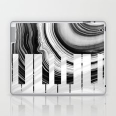 Marbled Music Art - Piano Keys - Sharon Cummings Laptop & iPad Skin