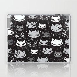 Rockabilly Cats with Pompadours Laptop & iPad Skin