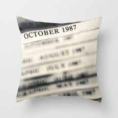 October 1987  Throw Pillow