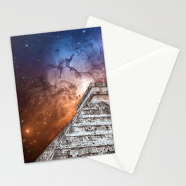 Cosmic Pyramid Stationery Cards