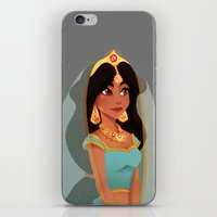 jasmine iPhone & iPod Skins featuring Jasmine by Sophie Eves