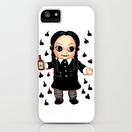 Wednesday Kewpie iPhone Case