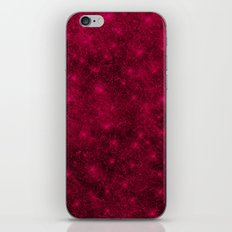 Sequin series red iPhone & iPod Skin