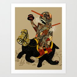 Hooray Art Print