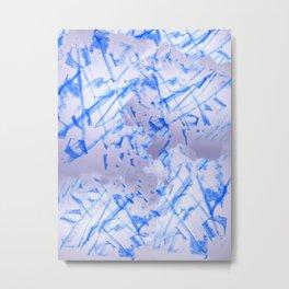 Blue Beets Metal Print