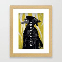 Macadabre, la brigade de la malemort Framed Art Print