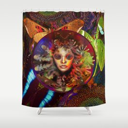 Global Change Shower Curtain
