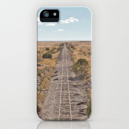 Train to nowhere iPhone Case
