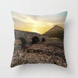 Sligachan Bridge Throw Pillow