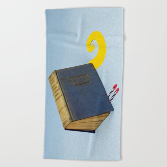 The Wicked Book of Oz Beach Towel