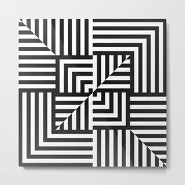 Illusion XX Metal Print