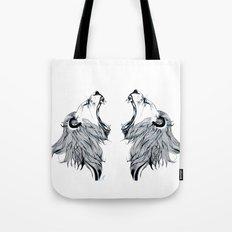 Growling Lion Tote Bag