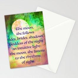 Moon Goddess Celebrated Stationery Cards