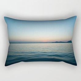 Subtle sunset Rectangular Pillow