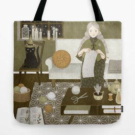 knitting magic Tote Bag