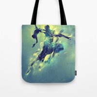 soul Tote Bags featuring Soul by Pete Harrison