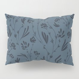 Wild Cosmos, Denim Blue Pillow Sham