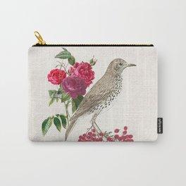 Birds, flowers and berries - an arrangement Carry-All Pouch