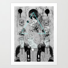 FALSE PROPHETS II Art Print