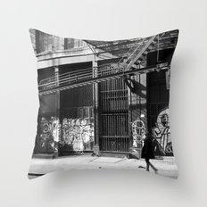 Crosby Street SoHo Throw Pillow