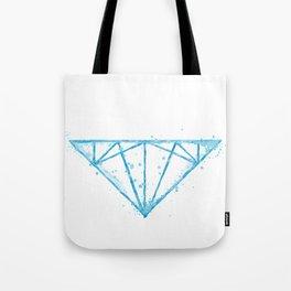 watercolor diamond Tote Bag