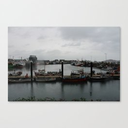 Irish Port Canvas Print