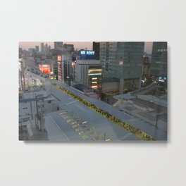 Akihabara Metal Print