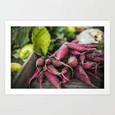 The Farmer's Market Art Print