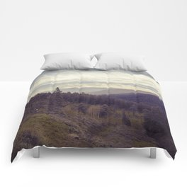 Above The Mountains Comforters
