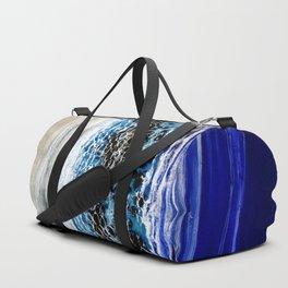 ...blurred line of horizons Duffle Bag