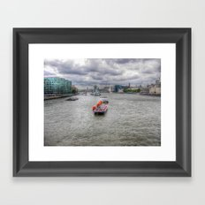 Thames Framed Art Print