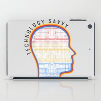technology iPad Cases featuring Technology Savvy by Adil Siddiqui