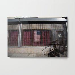 Star Spangled Entangle  Metal Print