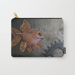 Steampunk Goldfish Carry-All Pouch