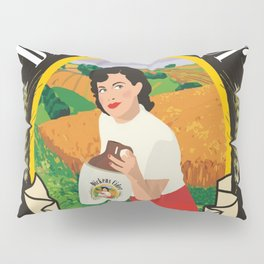 Dickens Cider - Every Girls Likes A Dickens Cider! Pillow Sham