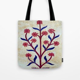 Floral Fresco  Tote Bag