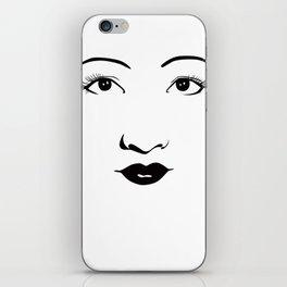 Old Hollywood - Anna May Wong iPhone Skin