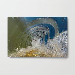Beautiful Chaos - Ocean Wave Metal Print