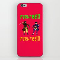 pirates iPhone & iPod Skins featuring Pirates!!! by Michael Keene