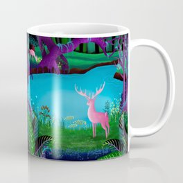 The Silent Deep Stream of Greendown Glenn Coffee Mug
