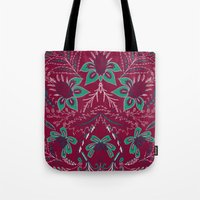 folk Tote Bags featuring Folk by Laura Braisher
