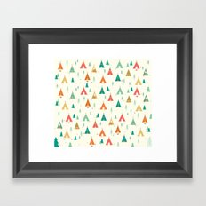 TeePee Framed Art Print