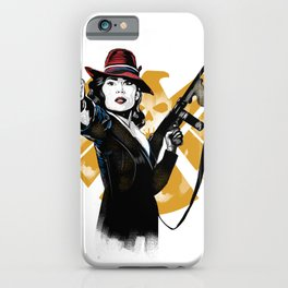Agent Peggy Carter iPhone Case