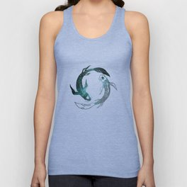 Balance in the Universe Unisex Tank Top