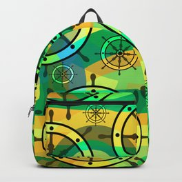 Ship wheels II Backpack